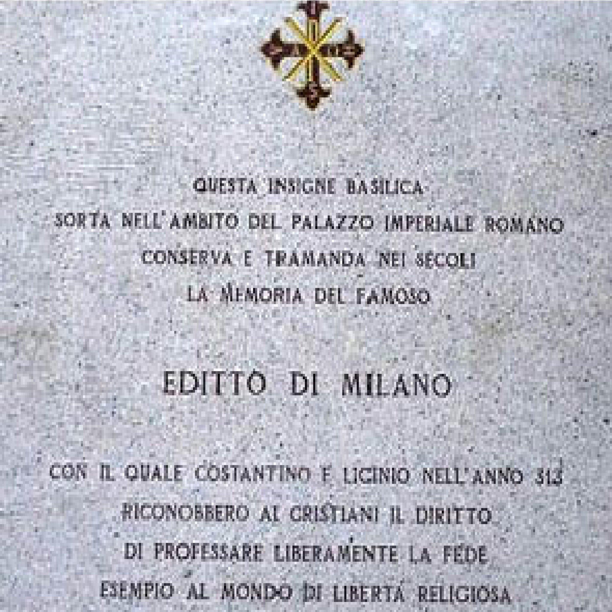 Podcast: L'Editto di Milano