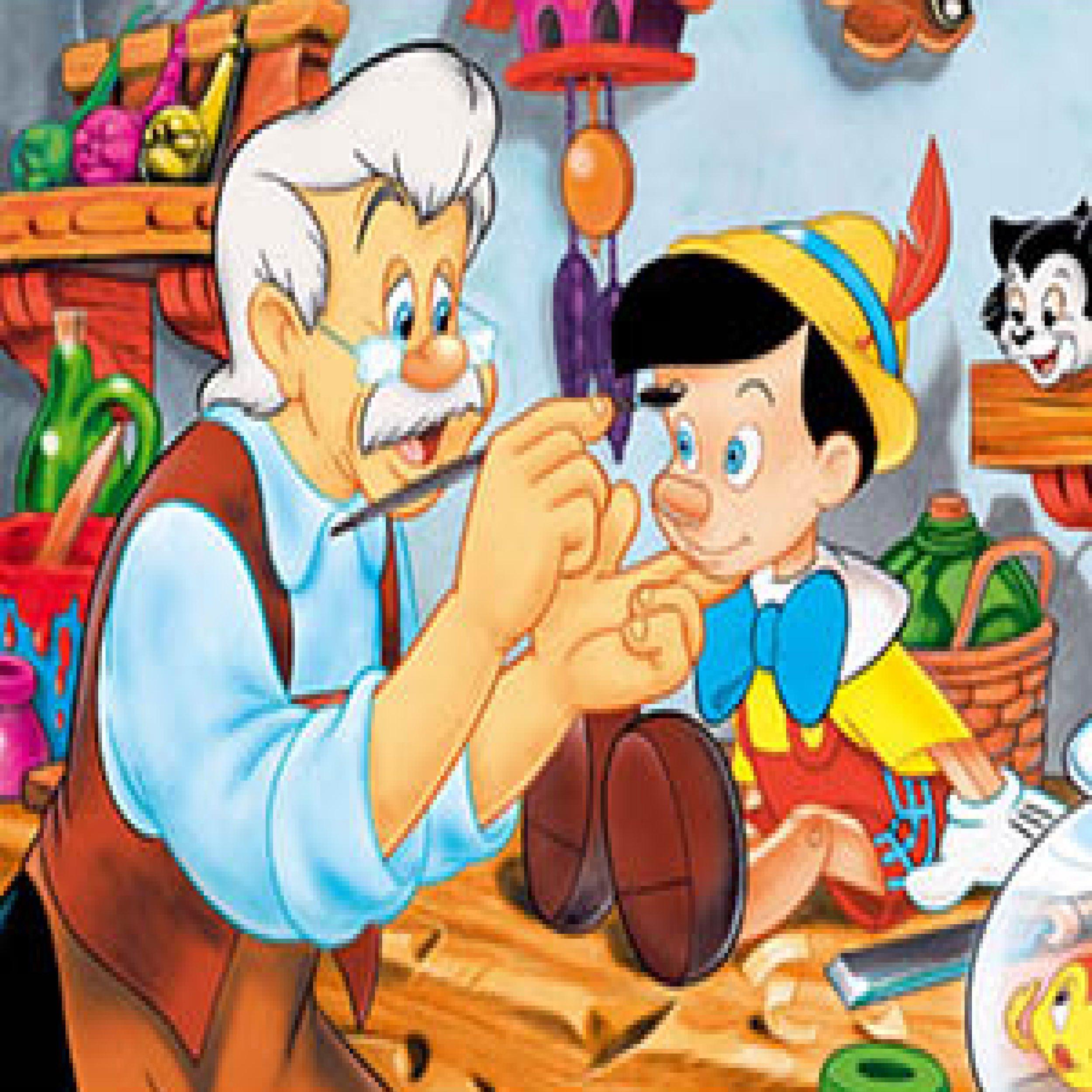 Podcast: Il papà di Pinocchio